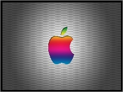 T�czowe, Apple, Logo